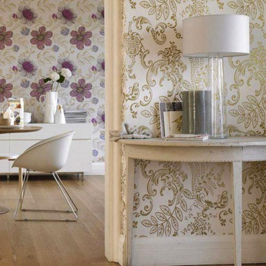 Consejos para empapelar tus paredes ideas reformas viviendas - Papel pintado decoracion paredes ...