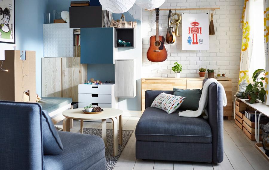 DECORACIÓN SALONES IKEA
