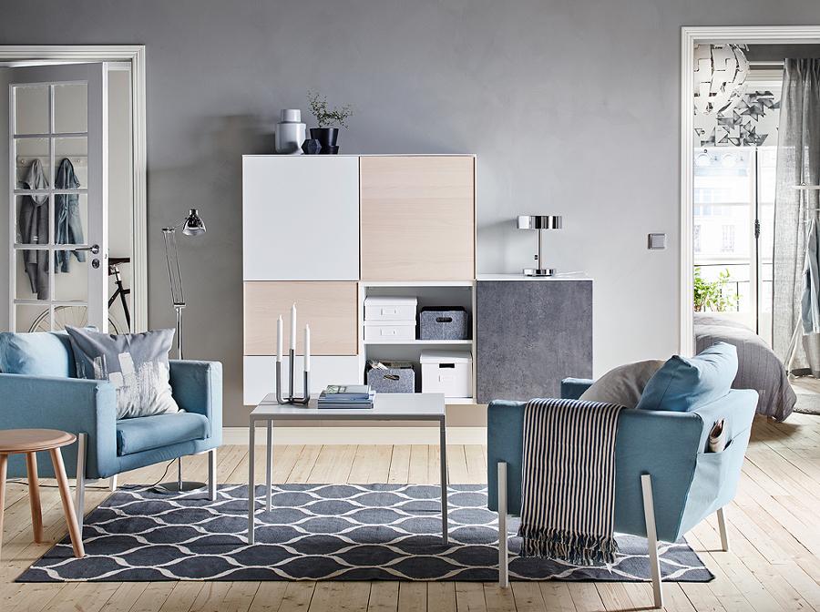 Foto decoraci n salones ikea de maribel mart nez 1770303 habitissimo - Ikea decoracion salon ...