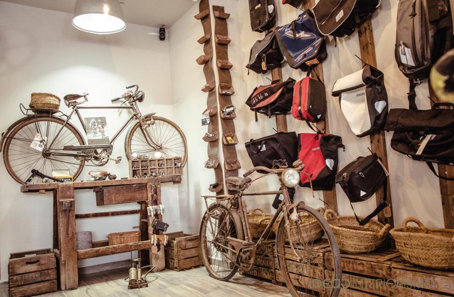 Tienda Vintage Decoracion ~ Una Tienda de Bicicletas con Sabor Vintage  Ideas Reformas Locales