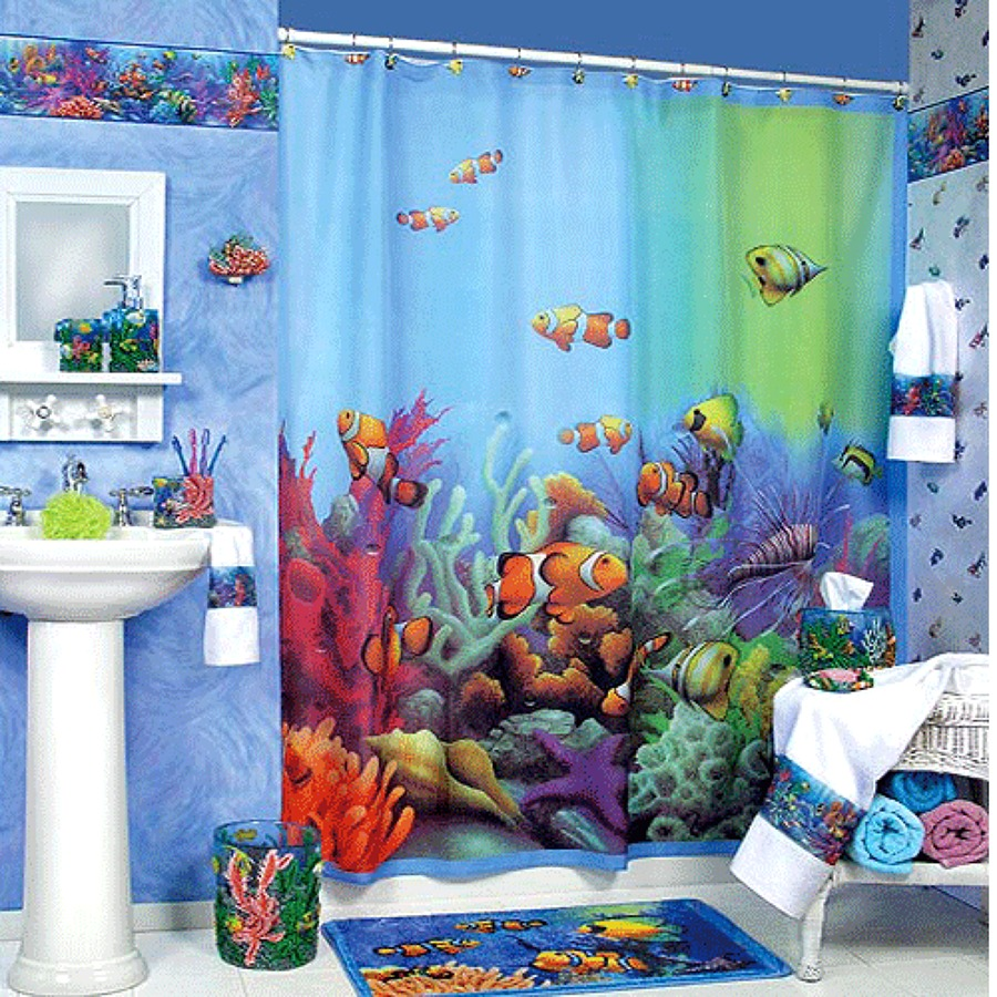 C mo decorar el ba o con peces ideas art culos decoraci n for Articulos decoracion