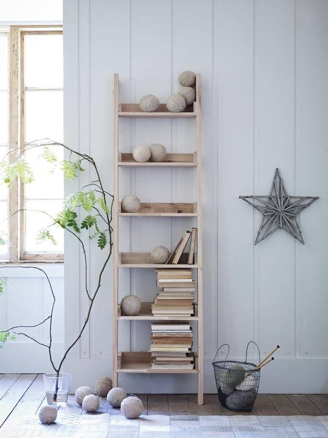 decorar con escaleras de madera