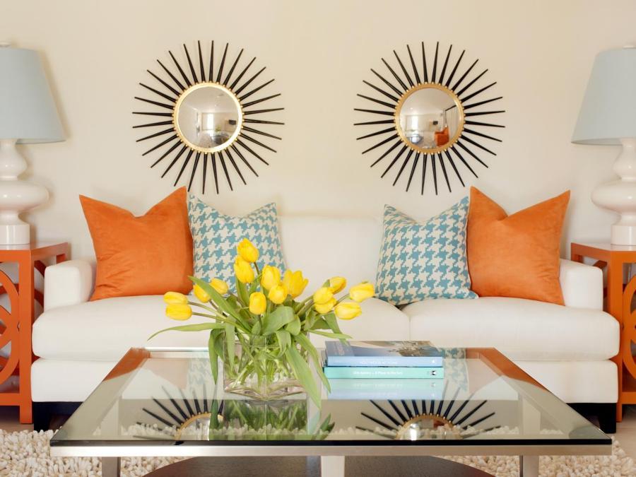 decorar con espejos de sol