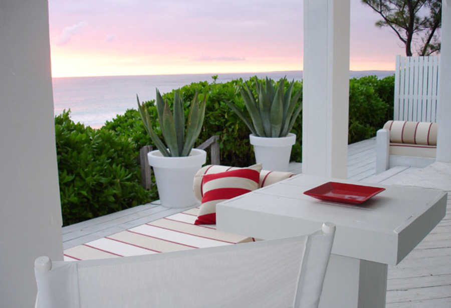 Ideas para decorar terrazas con vistas al mar ideas - Como decorar una terraza grande ...