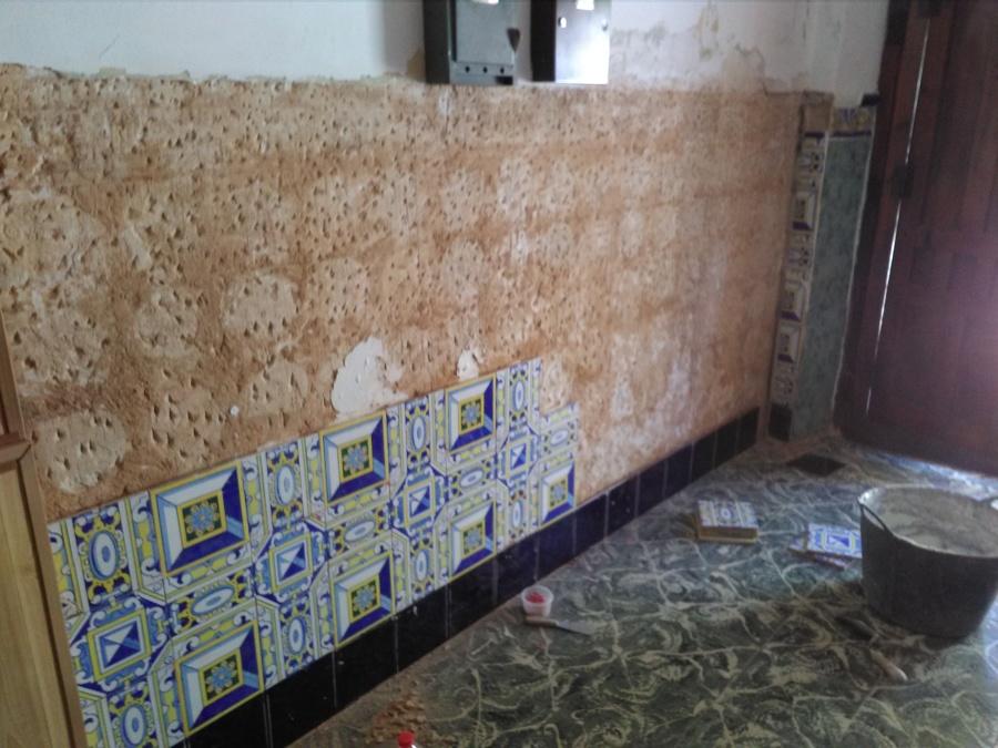 Arreglo pared azulejos caidos ideas reformas viviendas - Copia de azulejos ...