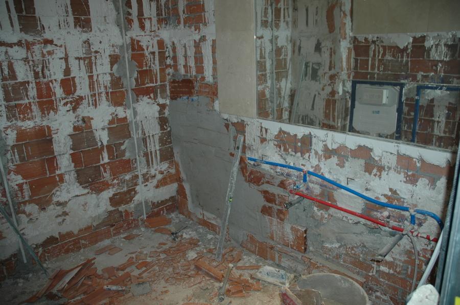 Demolición bañera
