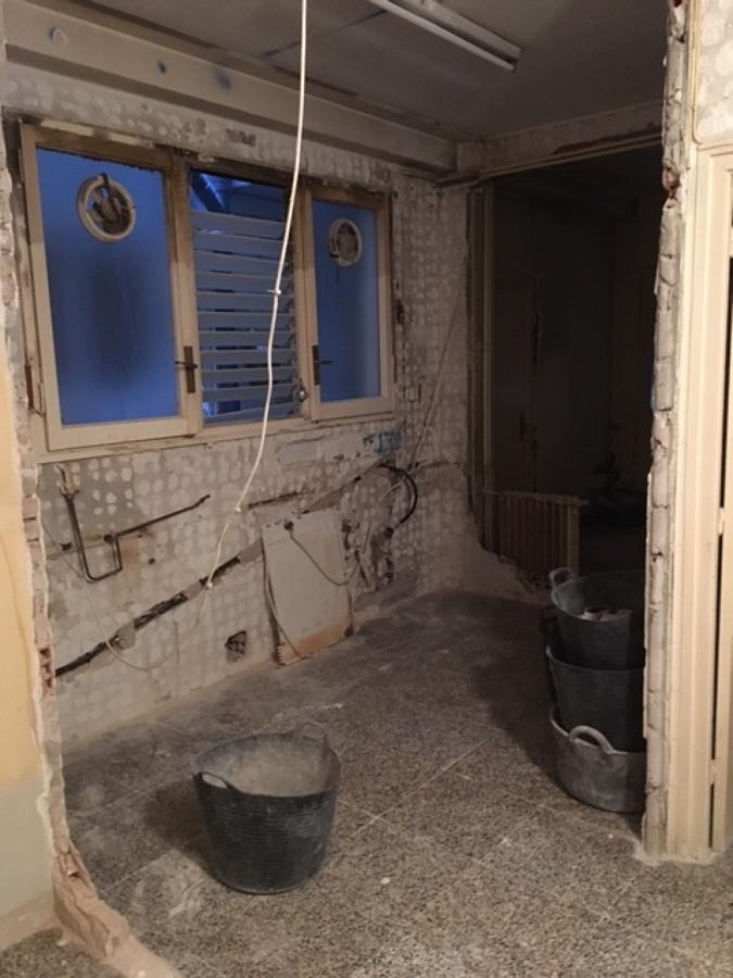 Demolición cocina