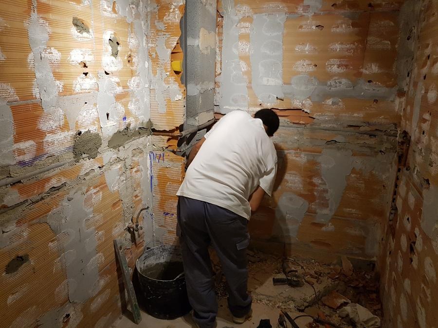 Demolición de baño