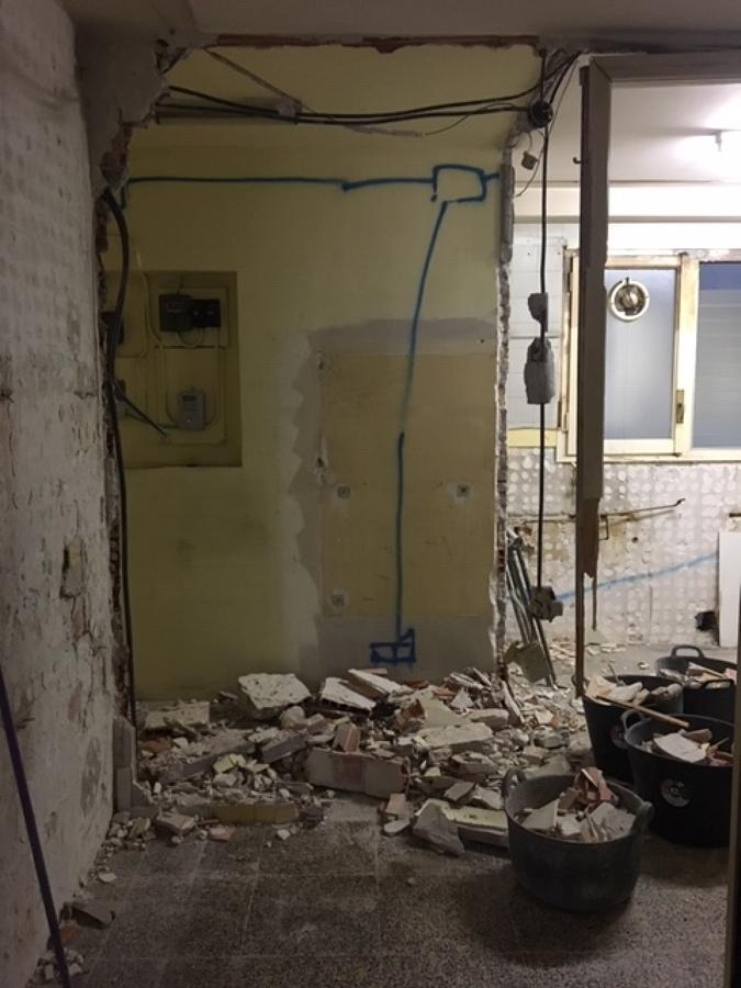 Demolición de instalaciones