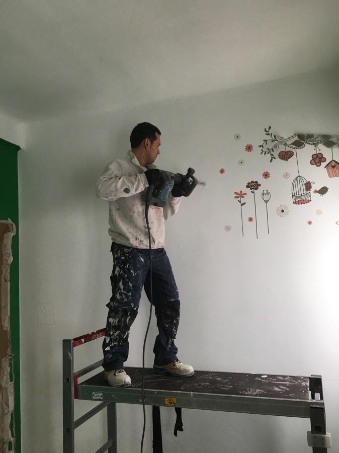 Demolición de paredes