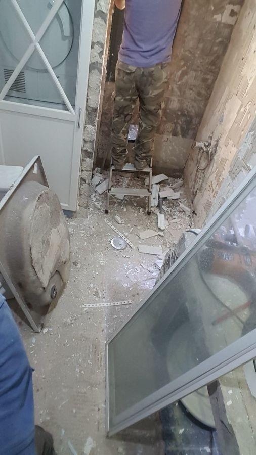 Demolicion del baño