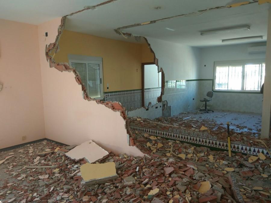 Demolición Tabiquería Interior Oficinas