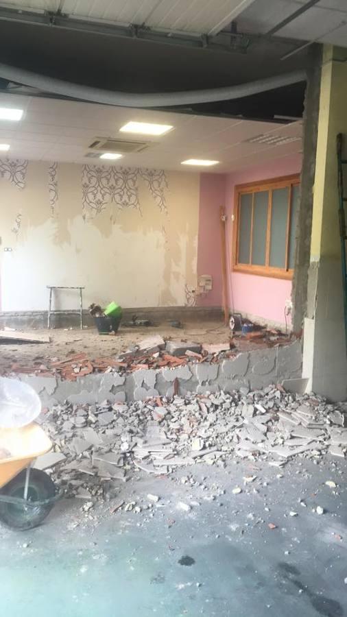 Demoliciones y derribos previos