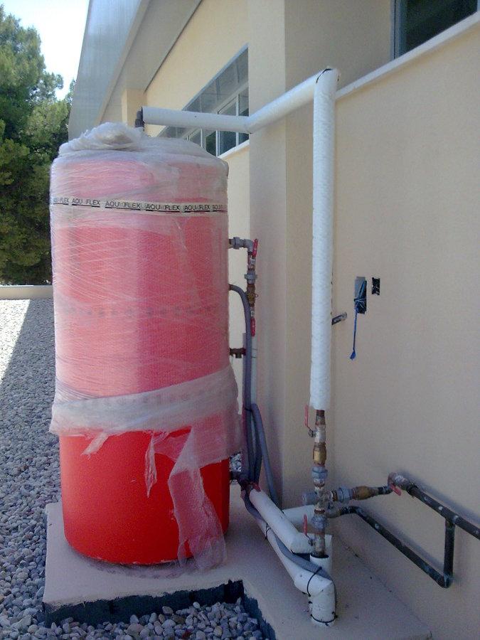 Depósito Agua Caliente
