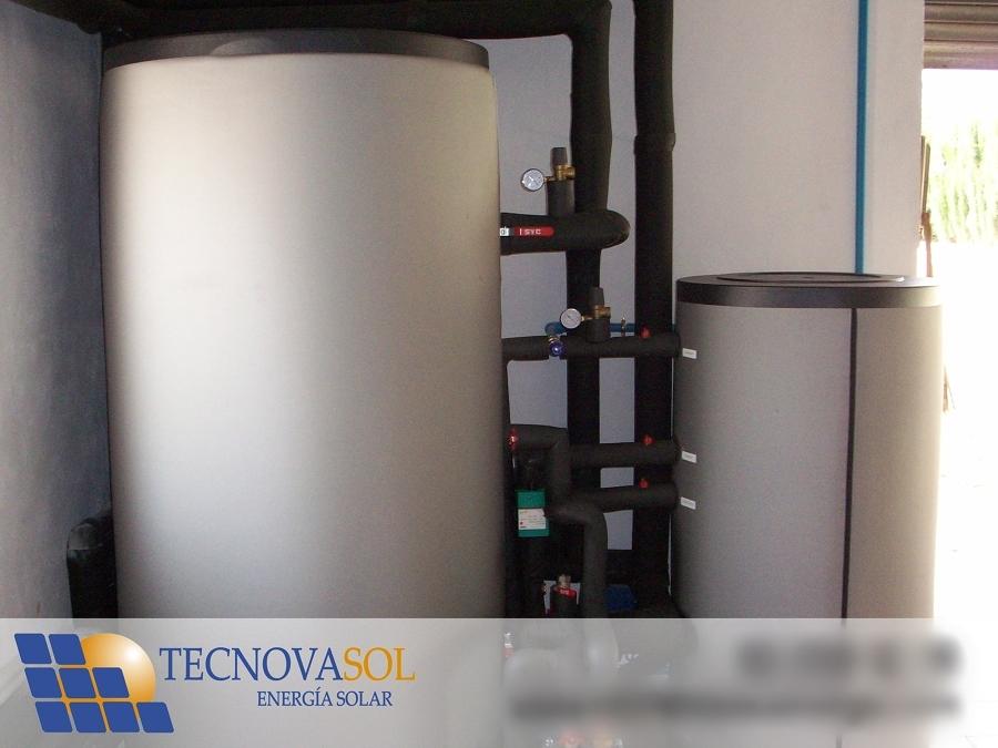 Depósito Calefacción 500 litros y ACS 300 litros