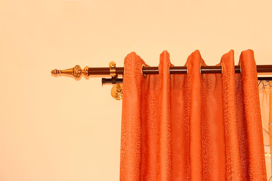 C mo colocar los rieles y barras para los visillos ideas reformas viviendas - Barras para visillos ...