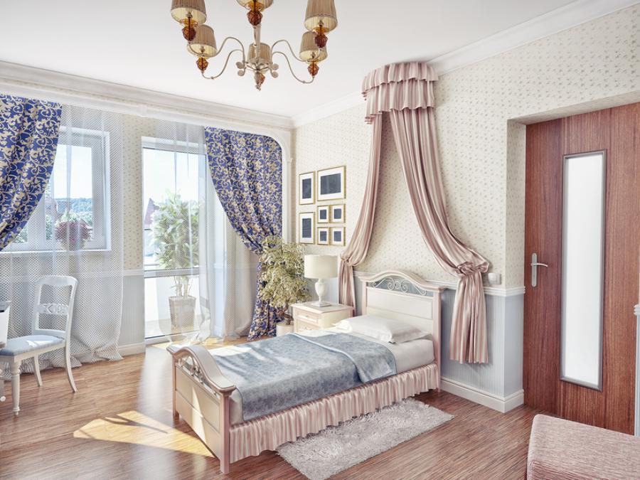 C mo conseguir una casa con estilo rom ntico ideas chimeneas for Casas estilo romantico