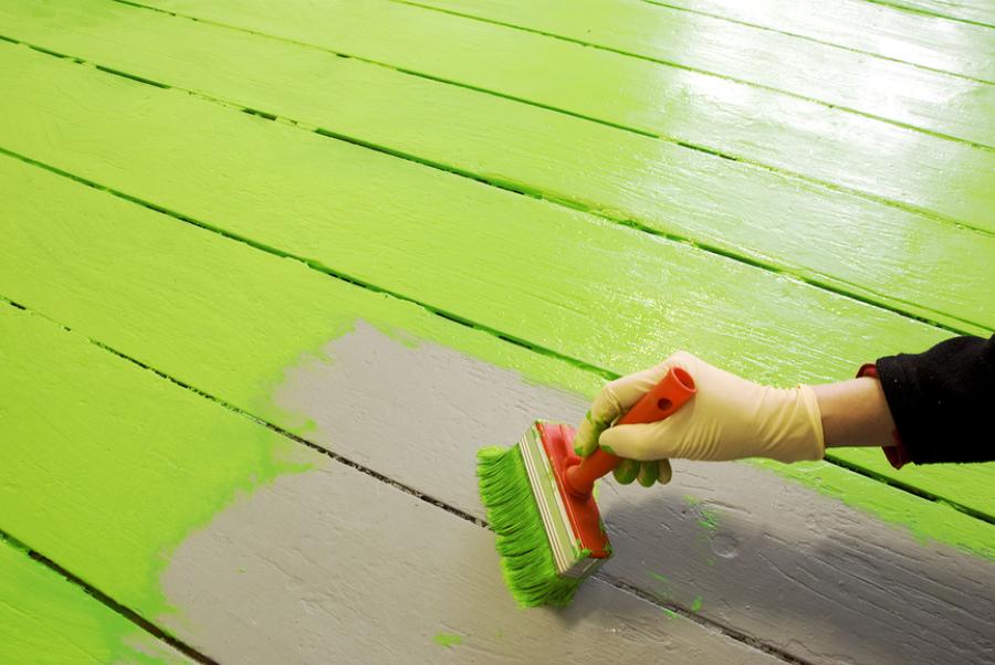 Consejos para pintar el suelo de casa ideas pintores - Se puede pintar el piso ...