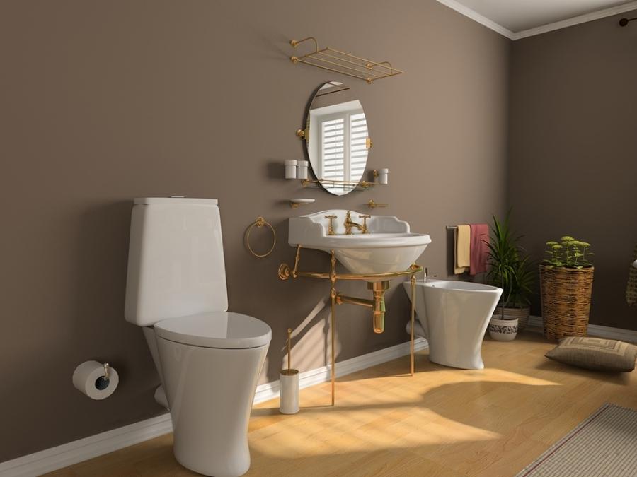 Consejos para instalar parquet en ba os y cocinas ideas - Parquet para banos ...