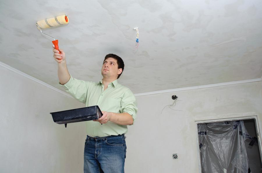 Consejos para pintar un techo ideas reformas viviendas - Consejos para pintar techos ...