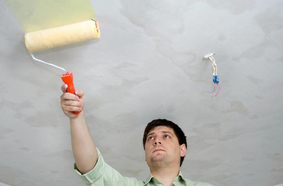 Consejos para pintar el techo ideas pintores - Consejos para pintar techos ...