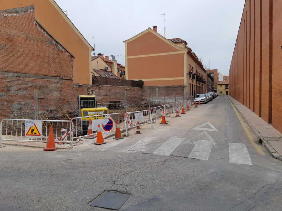 Derribo en Alcalá de Henares