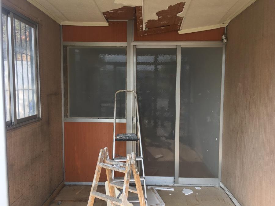 Derribo paredes y techos