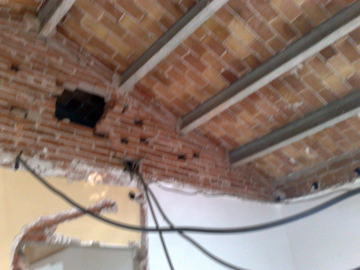 Derribos techos.