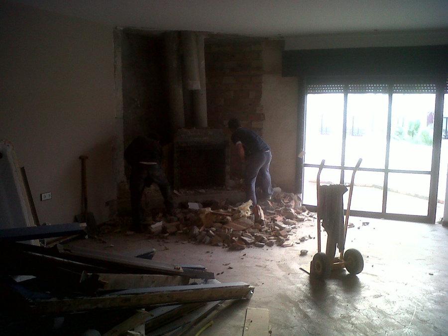 derrivo de tabiques techos para nuevo proyecto
