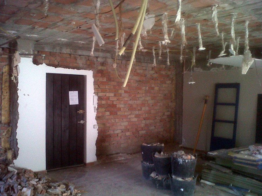 derrivo de techo instalaciones
