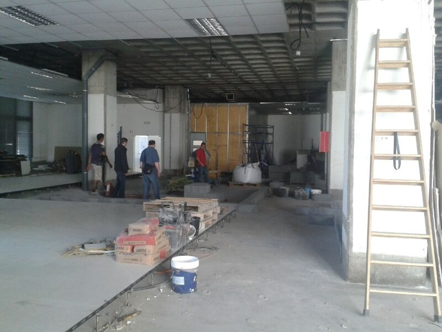 Desarrollo de la obra. Vista general 3