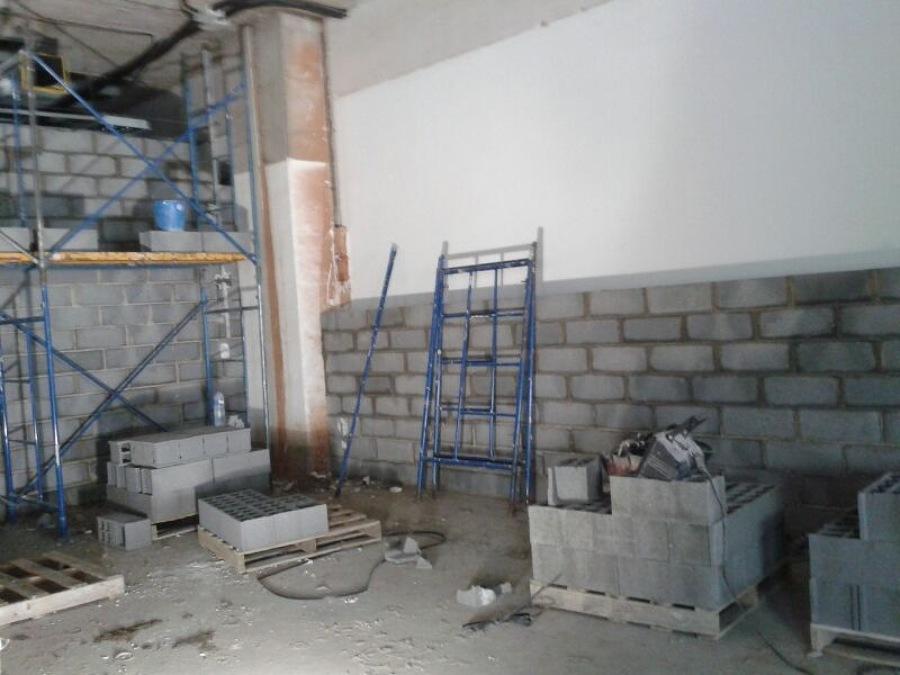 Desarrollo de la obra. Vista sala de locución 2