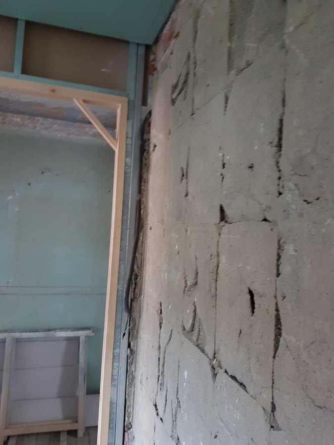 Desenchapado de paredes