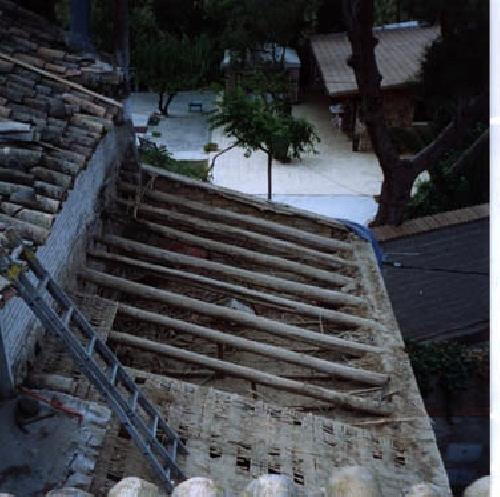 Desmantelacion tejado