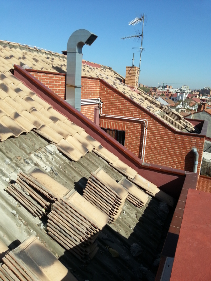 Desmantelamiento de tejado