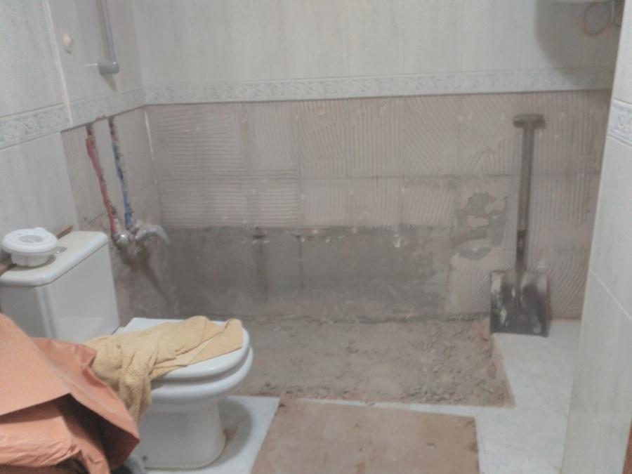 Desmontaje de bañera