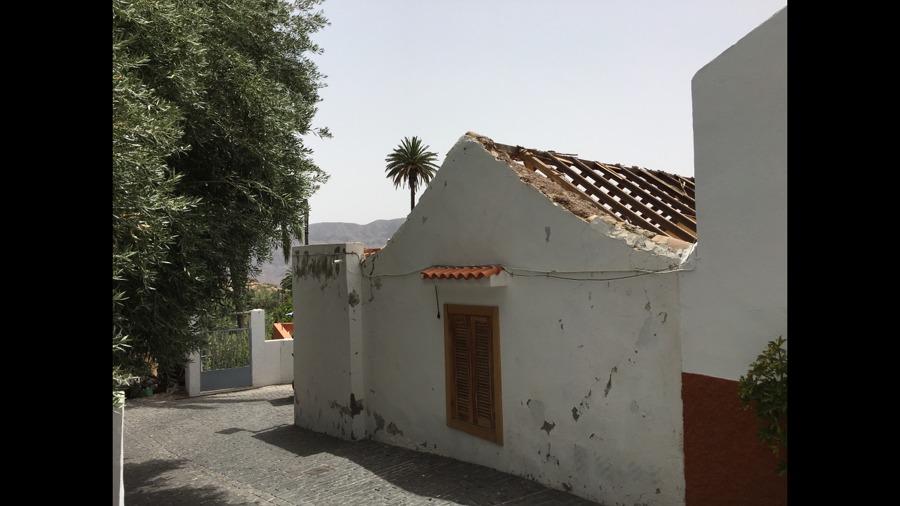 Desmonte de tejado en mal estado