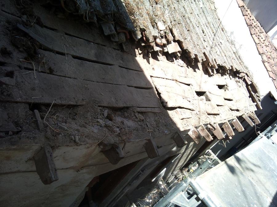 Rehabilitacion de cubierta en granada ideas tejados for Tejados de madera en granada