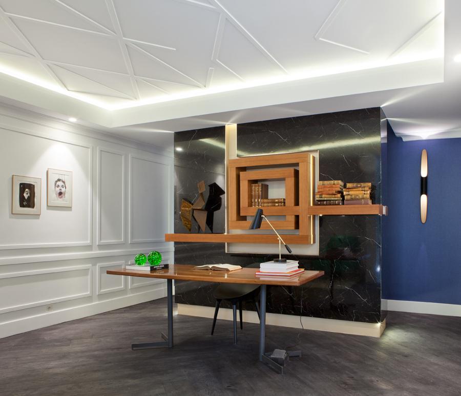 Foto despacho casa decor 2015 de miguelmu oz estudio - Muebles despacho casa ...