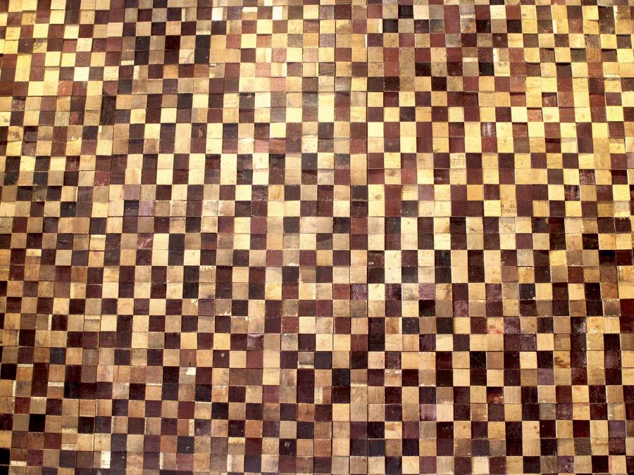 Detalle 2 Revestimientos en maderas naturales by COS