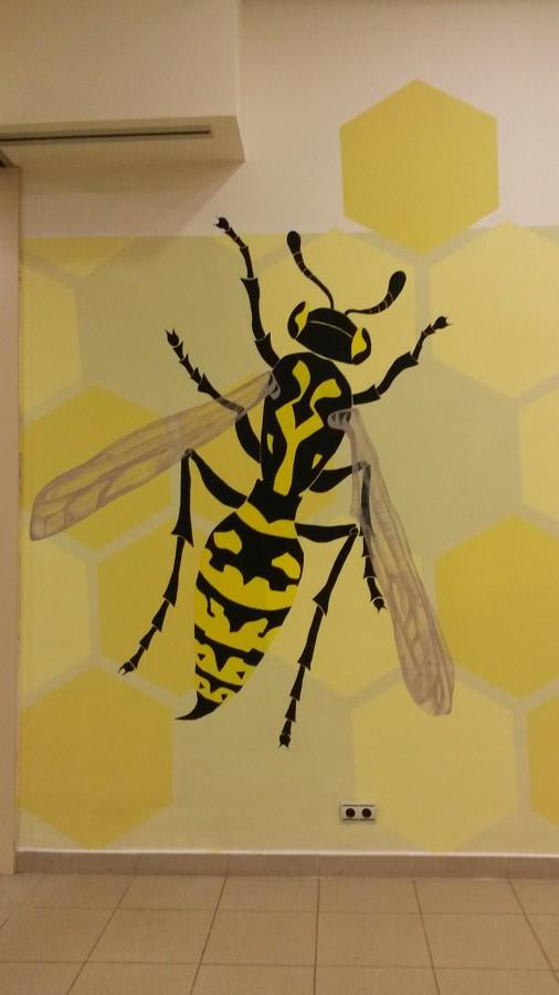 Detalle abeja