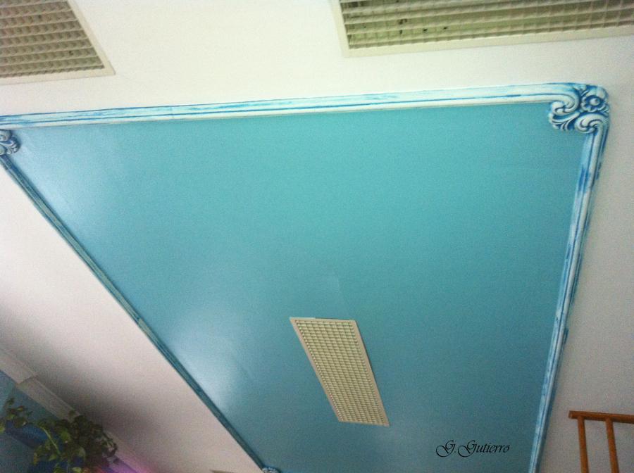 Detalle alfombra techo