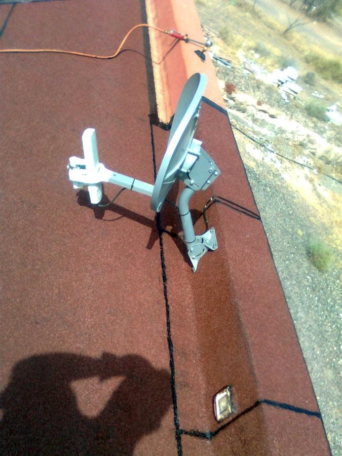 Detalle antena, fin.