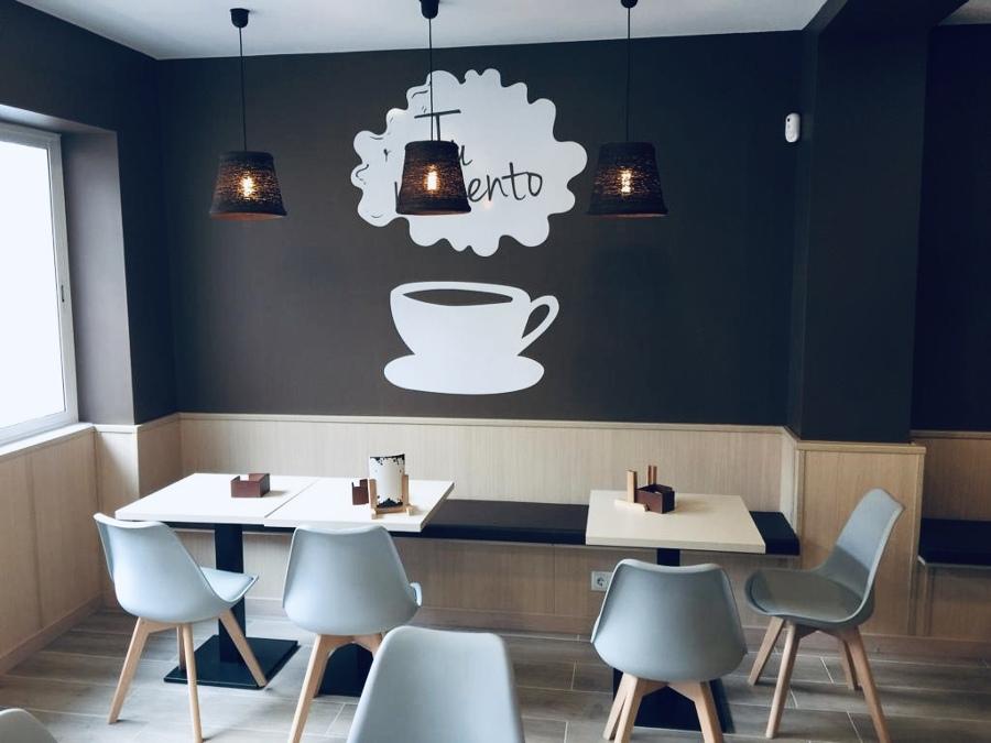 Detalle cafetería