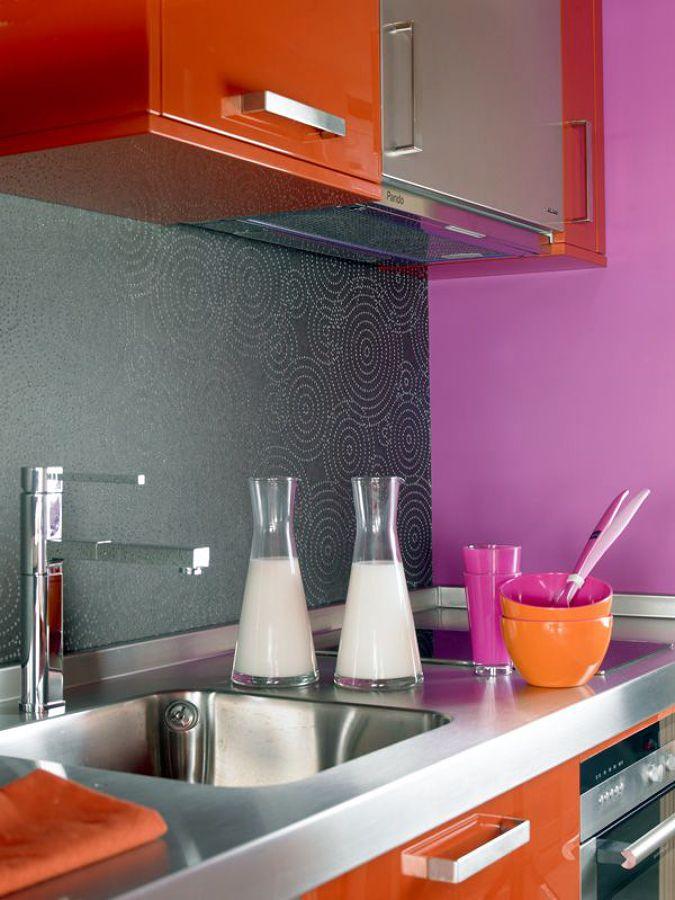 Detalle cocina loft