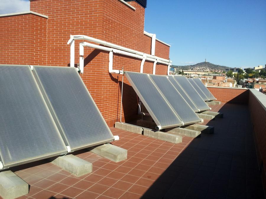 Energia solar termica ideas placas solares for Placas solares barcelona