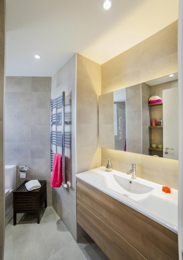 Detalle de baño rehabilitado
