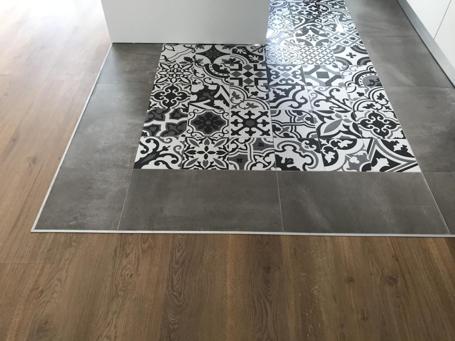 Detalle de despiece de suelo