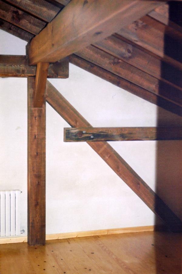 Detalle de estructura de cubierta