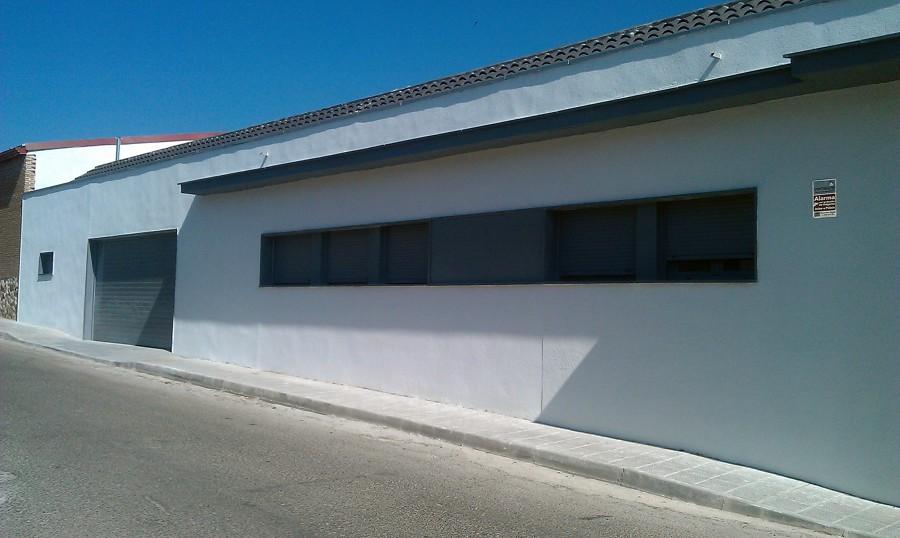 Detalle de fachada de vivienda